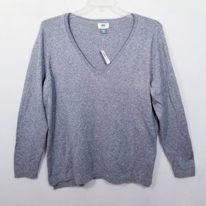 Old Navy Gray Long Sleeve Sweater - 2XL - NWT